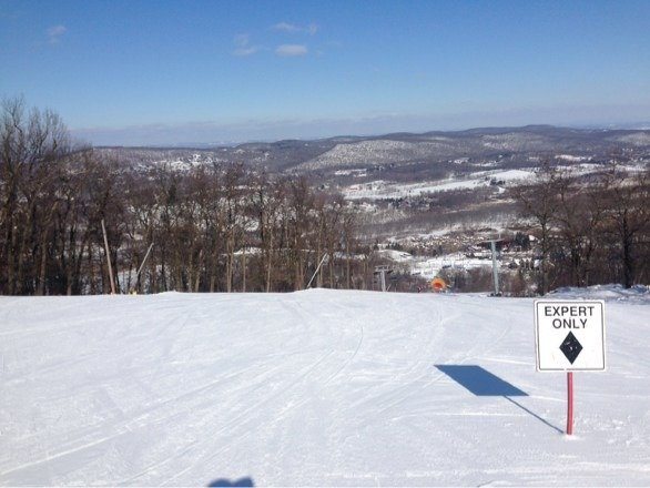 Conditions are great! No lines with most trails open. More snow on the way Thursday.  Best season in years!