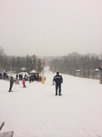 Fresh champagne powder at MC!!!!!