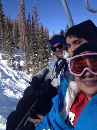 Here's last years pic. Praying for snow and good memories Spring Break 2014. It's 18 days away and counting.