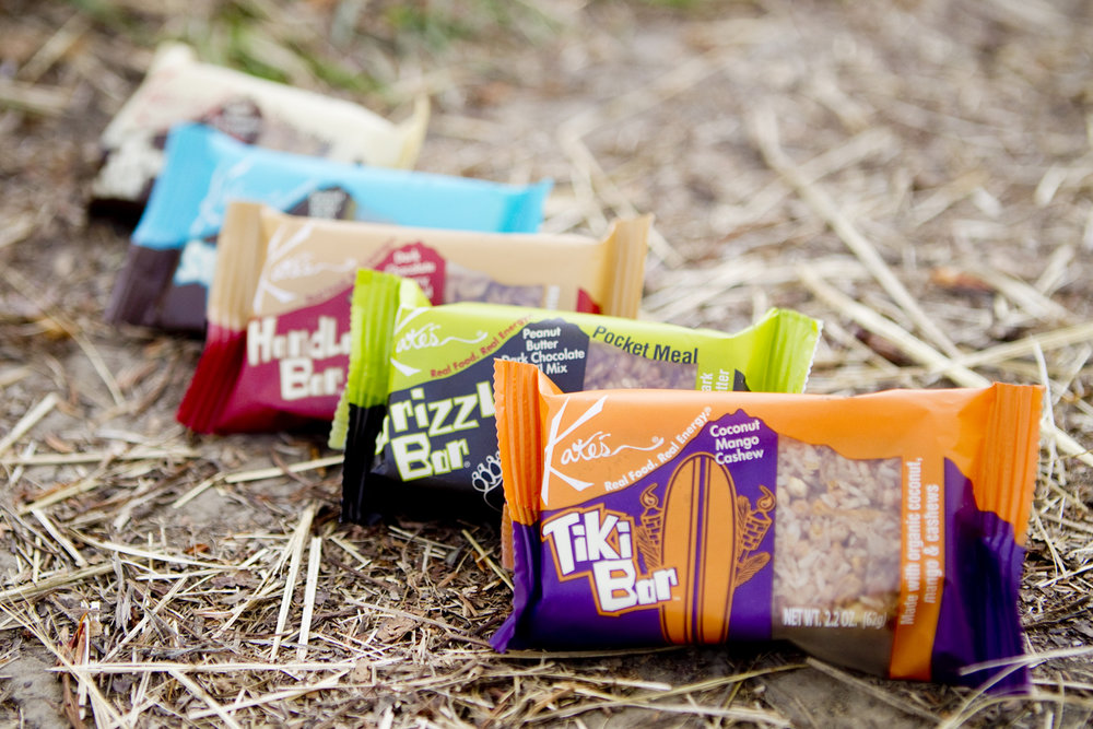 Kate's Tram Bars are made with organic, GMO-free ingredients and are freeze-free in sub-zero pocket conditions. - ©Kate's Tram Bars