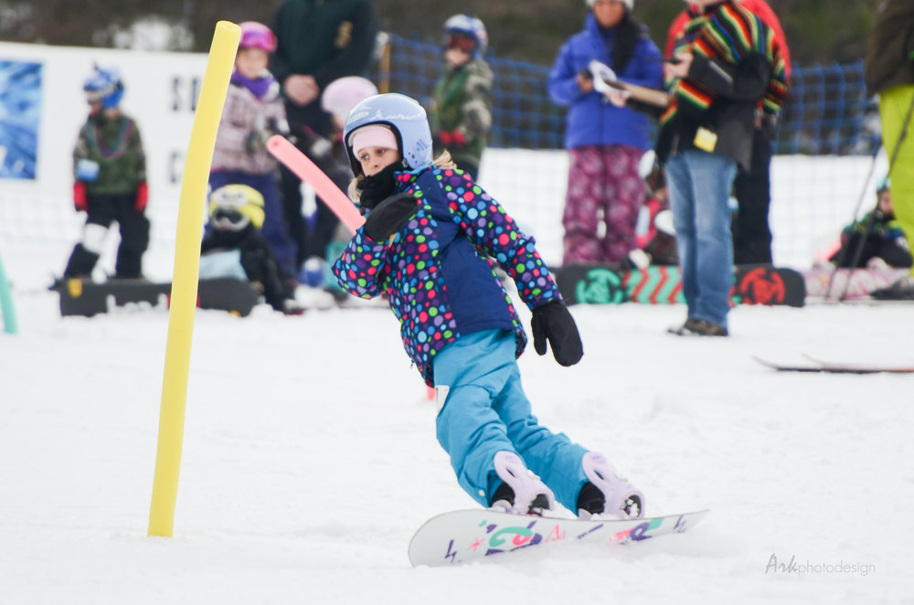 Kids enjoy the annual ski carnival