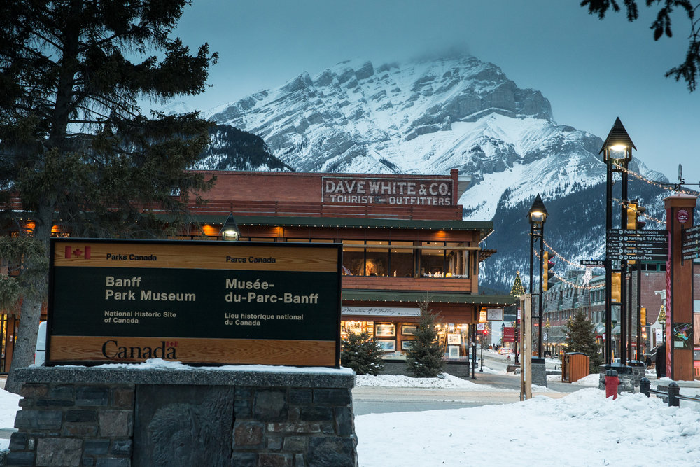 Sunshine, Lake Louise and Norquay are all located within Banff National Park, as is the town of Banff.