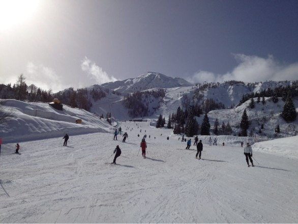 Amazing week in Ravascletto...great weather, brilliant slopes.