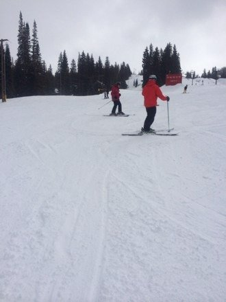 Saturday 2/22/14 - Best day ever at Brighton! Sun shining, snow flakes falling, & powder everywhere! Can't wait to come back!
