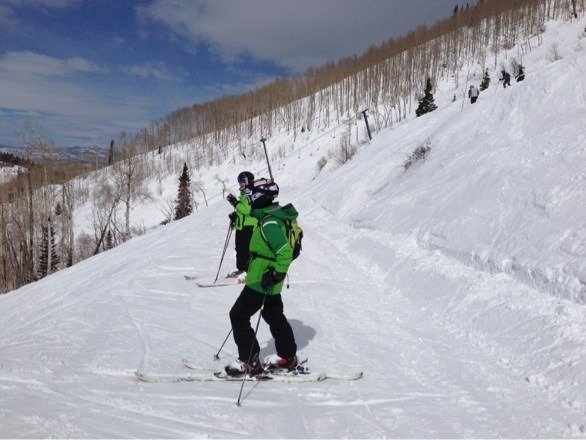 Great long weekend- a little soft Sunday and Monday, but Steamboat is well worth it!