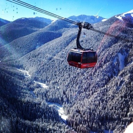 Beautiful day at whistler