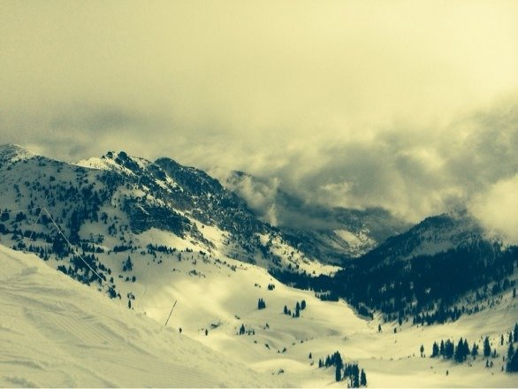Epic ski cat day at Snowbird