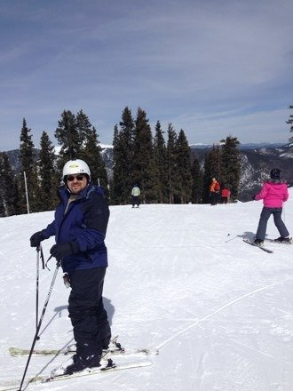 Best slopes this tenn girl ever been on.