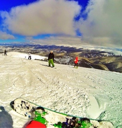 Best snow I've ever been on. Pic from top of Parson on Saturday