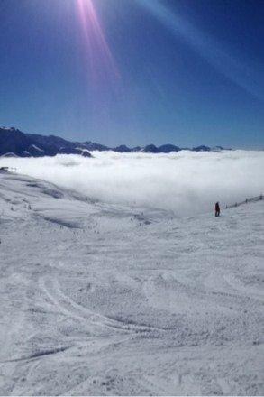 Le 02 mars 2014  Temps et neige parfait!