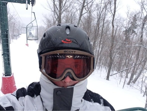 Lutsen was awesome today. 2-3 inches of snow and still coming down. Great conditions all over the mtn.