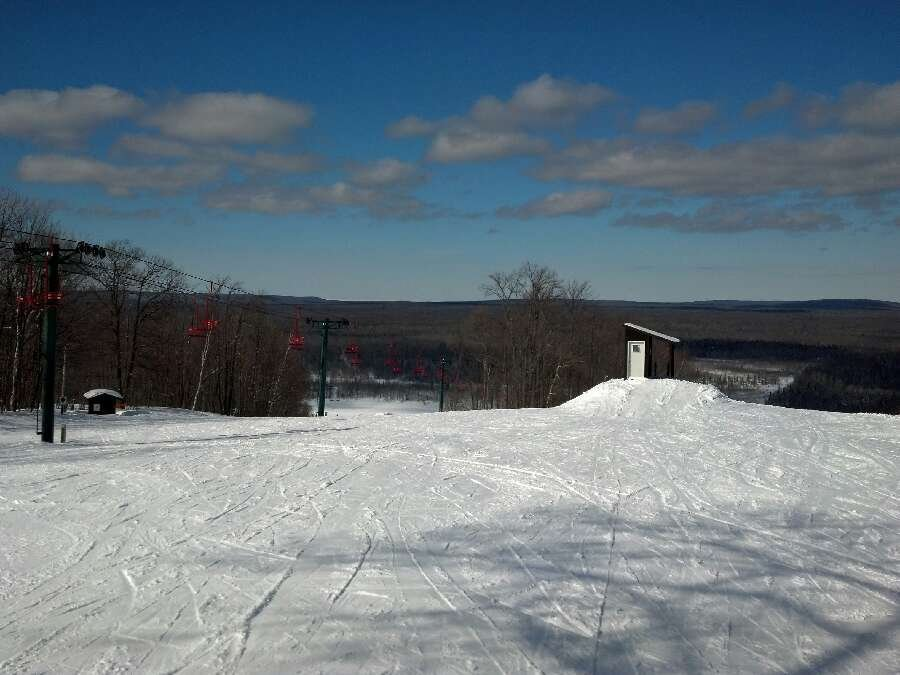 Super day. Pow pow and groomers the snow is perfect No crowds and the blue sky made a showing for the in the afternoon.