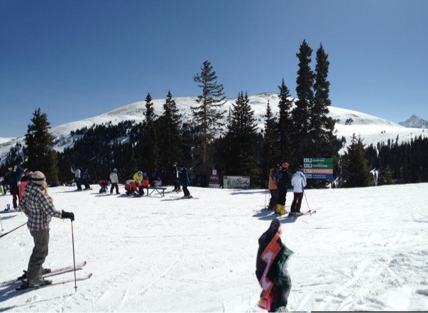 Beautiful weather and the runs were not overcrowded