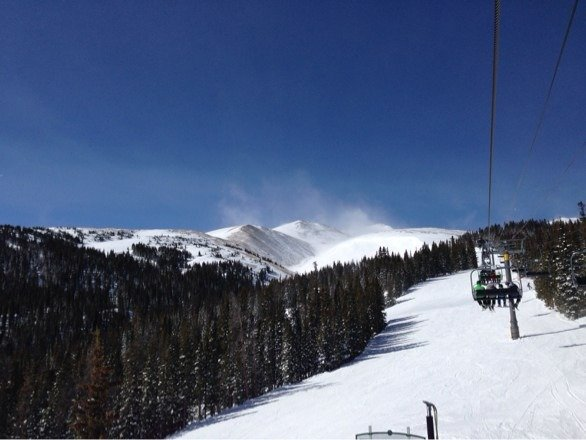 Beautiful day yesterday at Breck. Pleasantly surprised that the crowds weren't too bad.