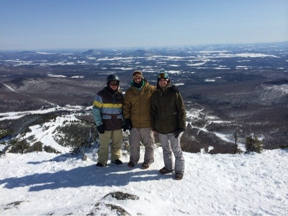 Was totally surprised by Jay Peak! Comparable to Colorado pow!! Amazing runs through the tree!!!