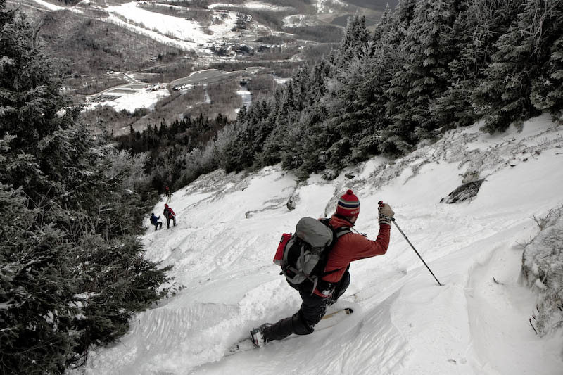 Look out! That's the trail... and what you should do while on it. - ©Stowe Mountain Resort