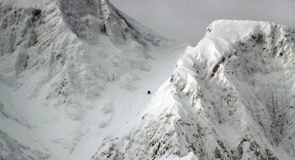 Big Sky couloirs aren't for the faint of heart.