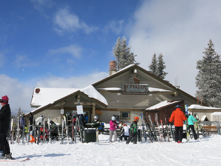 After a coffee break it's time to hit the slopes again in Vail, Colorado