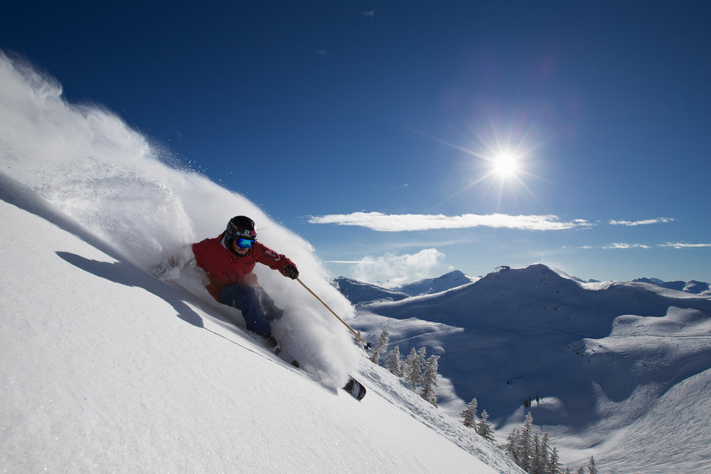 With a yearly average snowfall of 11.7 meters, there is no shortage of deep days at Whistler Blackcomb!  - ©Paul Morrison