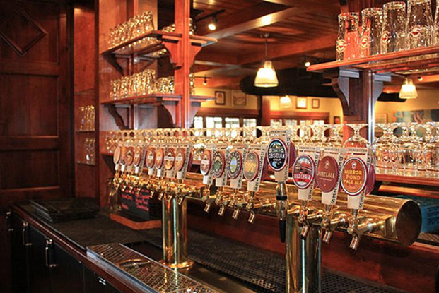 While you might be able to get Deschutes brews at home, a trip to the Deschutes Brewery Bend Public House will likely give you the opportunity to sample some suds that you can't find elsewhere.