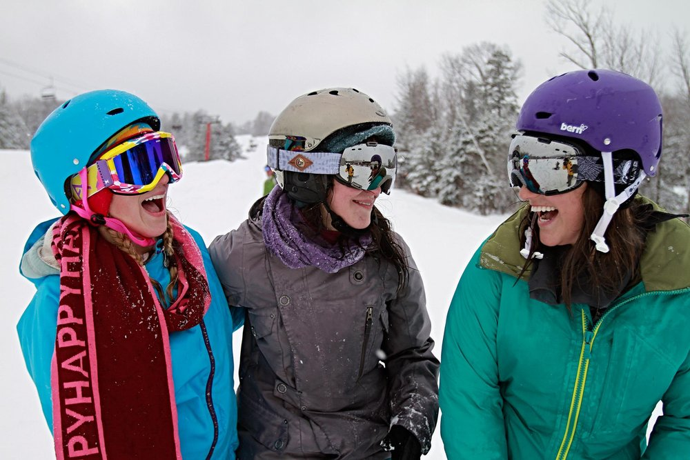 Female shredders can kick off college week at Hunter with the Burton Women's Camp. - ©Hunter Mountain