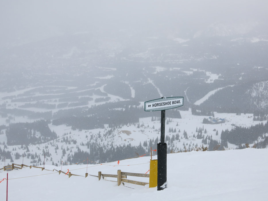 A great day on the slopes in slightly foggy weather in Breckenridge - ©Micaela Romani