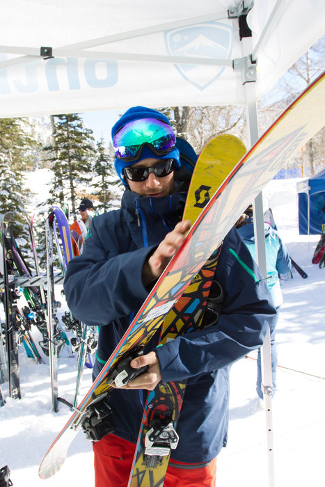 Keeping those skis tuned and our testers off their faces.  - ©Cody Downard Photography