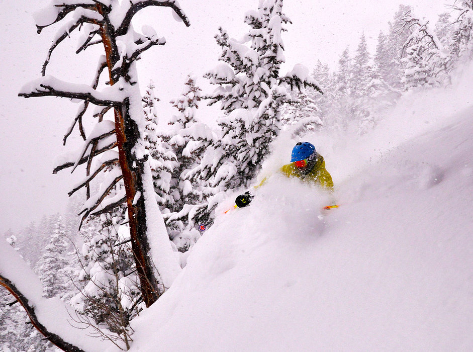 It's a milky run on Milk Run at Solitude Mountain Resort. - ©Courtesy of Solitude Mountain Resort