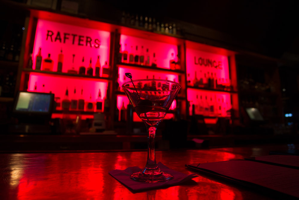 Rafters Lounge in Mammoth Lakes has a lively bar and nightlife.