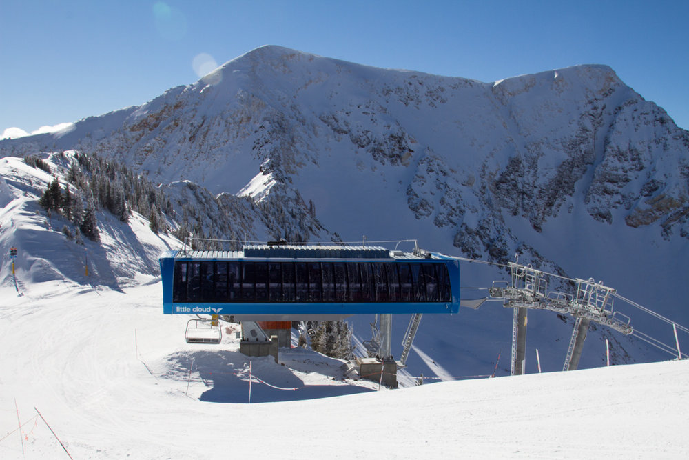 The views at Snowbird are worth the trip alone.