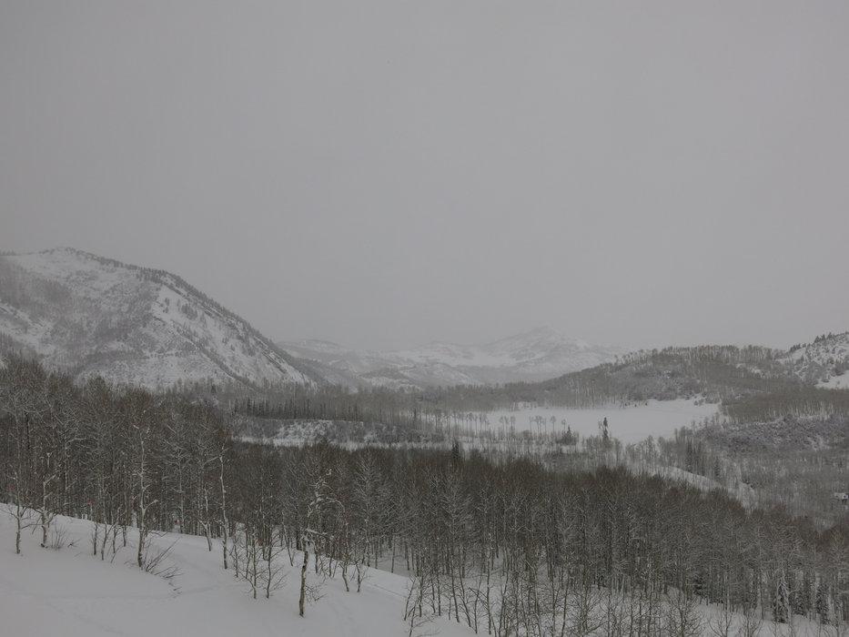 The sprawling terrain of Snowmass, Colorado