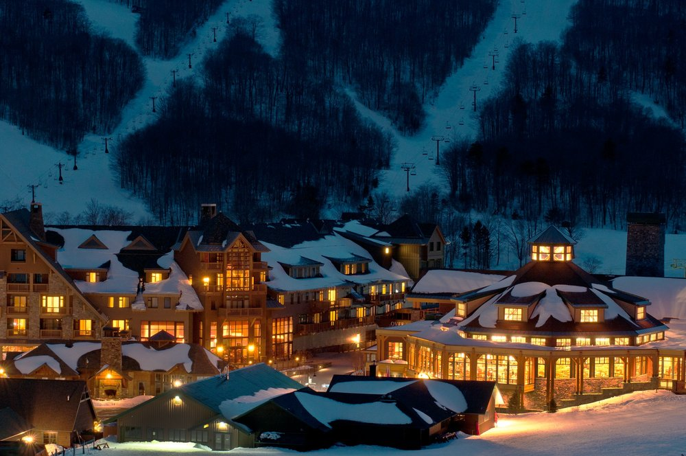 Spruce Camp and Stowe Mountain Lodge. - ©Stowe Mountain Resort