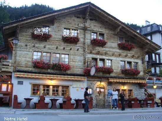 Hotel Becs De Bosson