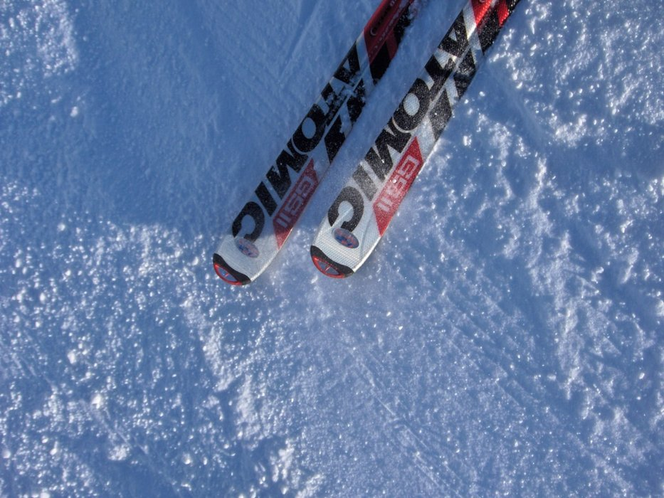My high-speed ride, great on hard stuff | ATOMIC GS-11 - ©George- it was an oops picture | georges7736 @ Skiinfo Lounge