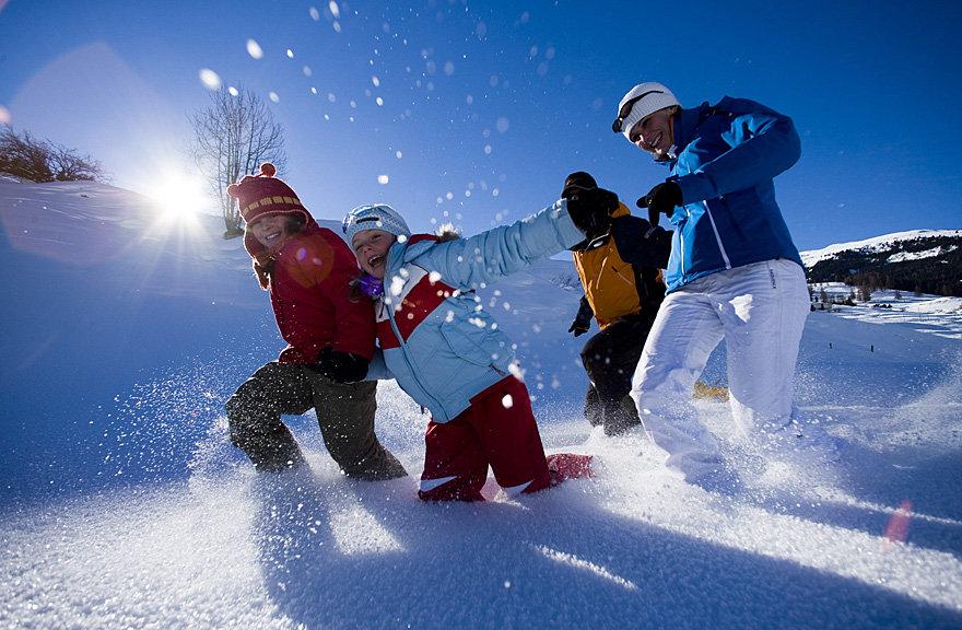 Savognin - ©Graubuenden Tourismus - Savognin | Snowfun @ Skiinfo Lounge