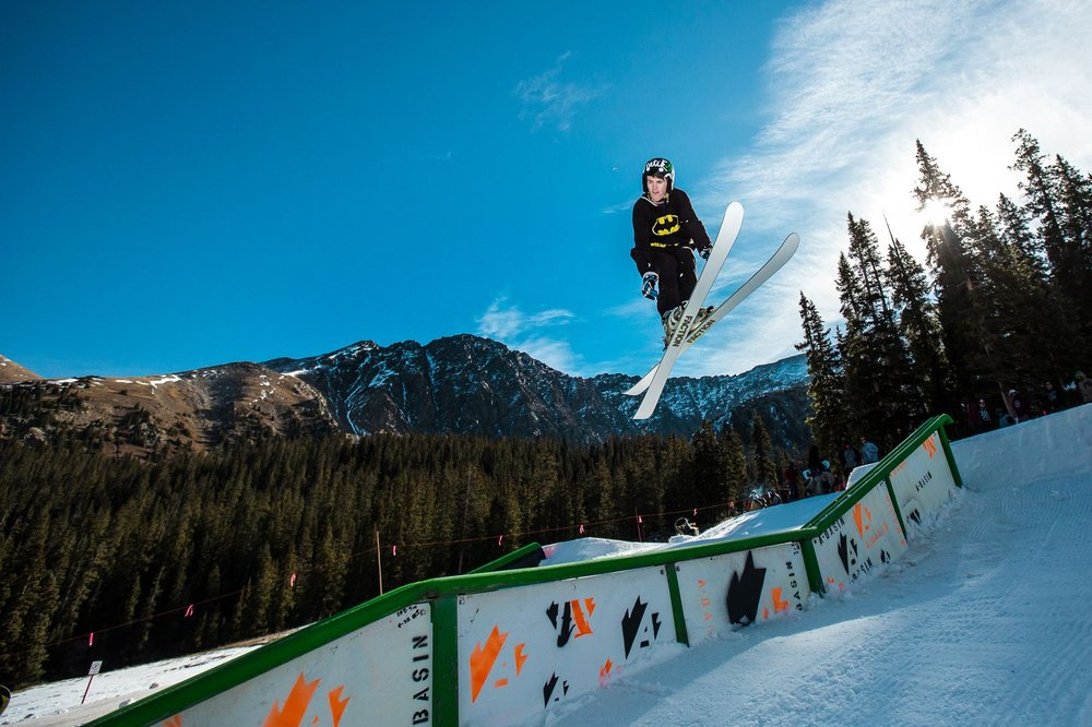 Holy air at A-Bay, Batman! - ©Dave Camara/Arapahoe Basin Ski Area