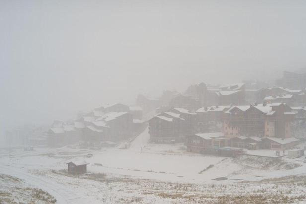 Val Thorens base 2,300m Oct. 22, 2014 - ©Val Thorens