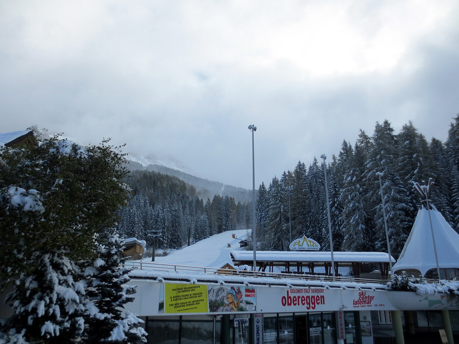 Neve fresca ad Obereggen, 23 Ottobre 2014