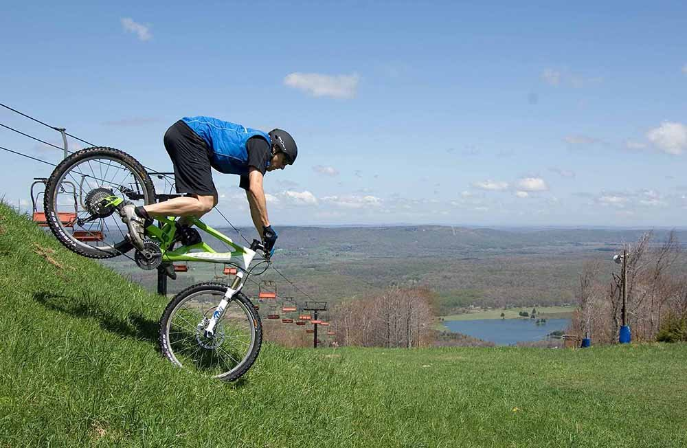 Trails at Timberline will give way to mountain biking starting May 22. Photo courtesy of Nature's Essence Photography