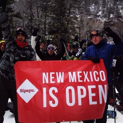 What a way to open up the season for New Mexico!!!! Love Sipapu and the staff!!! May have only had the carpets open but still had a blast!!!