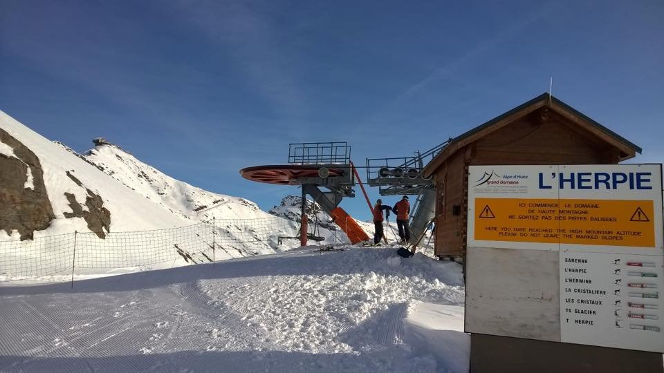 Alpe d'Huez Nov. 22, 2014 - ©Alpe d'Huez/Facebook