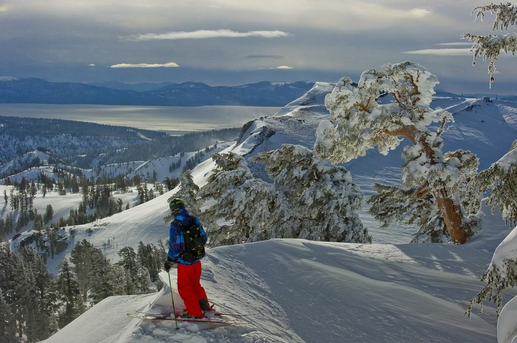 Views skiing Squaw. - ©Jason Abraham