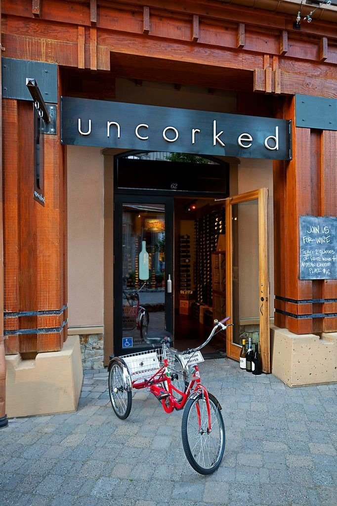 Uncorked in Squaw offers a wonderful place to not only hang out and enjoy a quiet, relaxing glass (ahem… bottle) of wine with friends, but also to partake in a truly enlightening oenophile experience.  - ©Uncorked