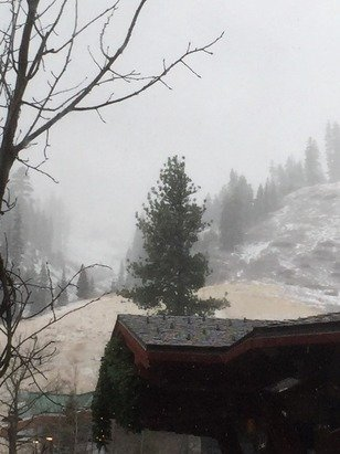 Currently snowing at squaw. Keep it coming!!!!!!!