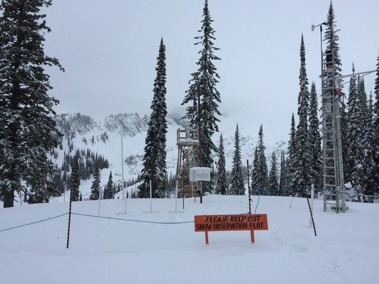Lots of early season hazards but you can definitely find some soft snow.