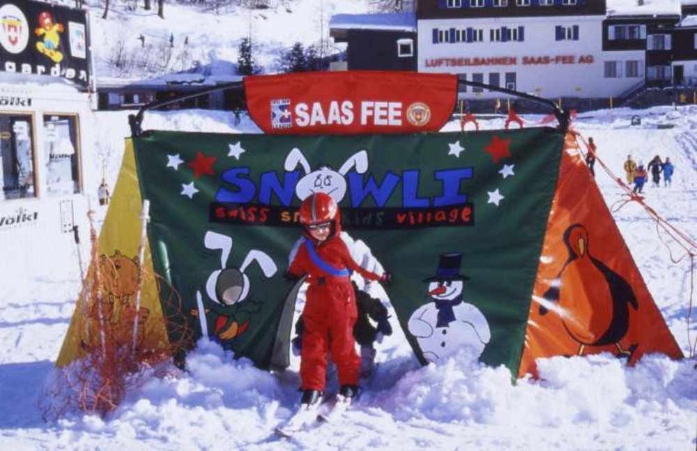 The Kidspark at Saas Fee.