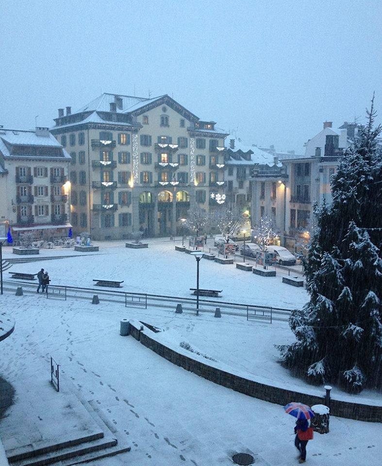 Chamonix town centre Dec. 17, 2014 - ©Chamonix