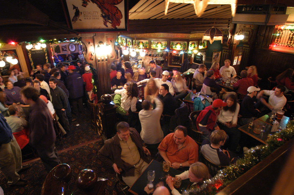 The scene at Mike's brings all the aspects of town into one eclectic, English-style pub in the center of town. - ©Mike's Place