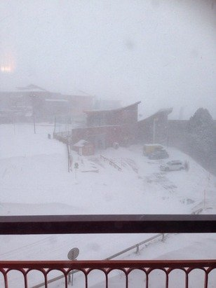 Tempete de neige depuis 4h du matin