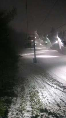 great night snowboarding!